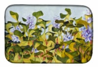 "Carolines Treasures  FHC1004DDM Water Hyacinth by Ferris Hotard Dish Drying Mat - 14  x 21"""