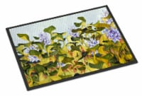 Carolines Treasures  FHC1004JMAT Water Hyacinth by Ferris Hotard Indoor or Outdo