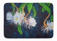 Night Blooming Cereus by Ferris Hotard Machine Washable Memory Foam Mat