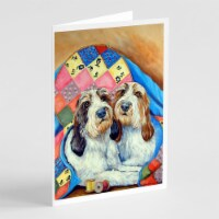 Petit Basset Griffon Vendeen  Greeting Cards and Envelopes Pack of 8 - A7