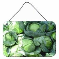 Carolines Treasures  GAK1016DS812 Cabbage by Gary Kwiatek Wall or Door Hanging P - 8HX12W