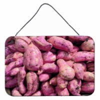 Carolines Treasures  GAK1025DS812 Sweet Potatoe by Gary Kwiatek Wall or Door Han