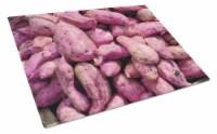 Carolines Treasures  GAK1025LCB Sweet Potatoe by Gary Kwiatek Glass Cutting Boar