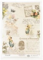 Dress My Craft Decopatch Rice Paper A3 -Chemiserie - 1