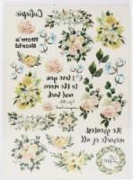 Dress My Craft Transfer Me Sheet A4-Mini Moo Flowers - 1