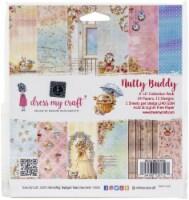 Dress My Craft Single-Sided Paper Pad 6 X6  24/Pkg-Nutty Buddy - 1