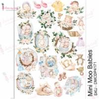 Dress My Craft Transfer Me Sheet A4-Mini Moo Babies - 1