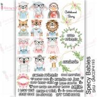 Dress My Craft Transfer Me Sheet A4-Specy Babies - 1