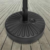 Pure Garden 50-LG1209 50 lbs Sand Patio Base Weighted Round Umbrella Holder