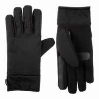 Isotoner­® Men's Large Stretch Gloves - Black