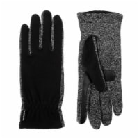 Isotoner­® Women's Fleece Gloves with Spandex Palm - Black
