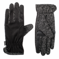 Isotoner® Women's Unlined Water Repellent Speckled Glove - Black