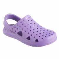 Totes Kids Splash and Play Clog - Paisley Purple