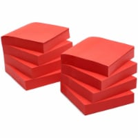 Bright Red Sticky Notes (3 x 3 in, 8 Pack) - PACK