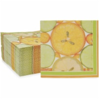 Citrus Fruit Paper Napkins for Summer Party (6.5 x 6.5 Inches, 150 Pack) - PACK