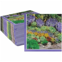 Succulent Paper Napkins for Birthday Party (6.5 x 6.5 In, 150 Pack) - PACK