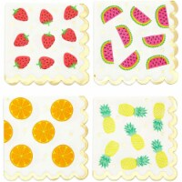 Fruit Cocktail Napkins, Summer Party Decorations (4 Designs, 5 x 5 In, 100 Pack) - PACK