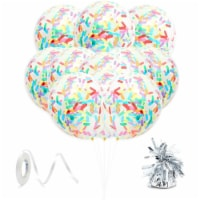 Confetti Balloons for Ice Cream Birthday Party Decorations (51 Pieces) - PACK