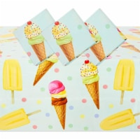 Ice Cream Tablecloth (54 x 108 in, 3 Pack) - PACK