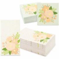 Floral Paper Napkins for Wedding, Bridal Shower (2 Sizes, 100 Pack) - PACK