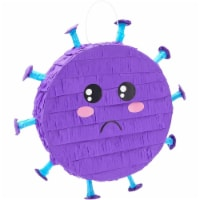 Round Purple Small Pinata for Stay at Home Party - PACK
