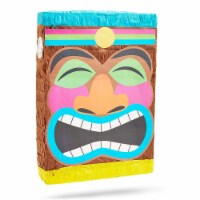 Tropical Tiki Pinata for Luau and Hawaiian Party (16.7 x 11.6 Inches) - PACK