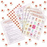 Valentine Bingo Game for Kids, Classroom Party Supplies (36 Pack) - PACK