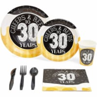 Sparkle and Bash Cheers & Beers to 30 Years Party Pack (Serves 24) - PACK