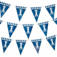 1st Birthday Party Supplies, Banner Flags (11 ft, 3 Pack) - PACK