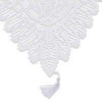 White Lace Table Cloth Runner Doilies Wedding Bridal Shower Décor 13 x 72""