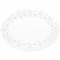 Juvale Oval Paper Lace Doilies (7.5 X 10.5 in, 300 pcs) - PACK