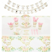 Serves 24 She Said Yes Bridal Shower Party Supplies Decorations for Wedding - PACK