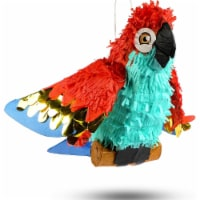 Small Parrot Pinata for Pirate Birthday Party (14.5 x 14 x 6 In) - PACK
