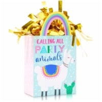 Llama Gift Bag Balloon Weights, Birthday Party Decorations (6 oz, 6 Pack) - PACK