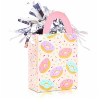 Donut Gift Bag Balloon Weights, Birthday Party Decorations (6 oz, 6 Pack) - PACK