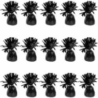 Black Balloon Weights for Birthday Party Decorations (6 oz, 4.5 In, 15 Pack) - PACK