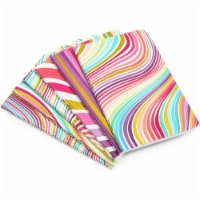 Rainbow Gold Foil Swirl Dot Journal Pocket Notebook, 32 Sheets (3.5 x 5.5 In, 6 Pack) - PACK