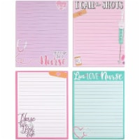 Memo Note Pads for Nurse Appreciation Gifts (4.25 x 5.5 In, 4 Pack) - PACK