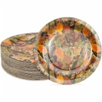 Paper Plates for Camouflaged Birthday Party Decorations (9 In, 80 Pack) - PACK