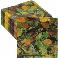Paper Napkins for Camouflage Birthday Party Supplies (6.5 x 6.5 In, 100 Pack) - PACK