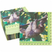 Sloth Birthday Party Supplies, Paper Napkins (6.5 In, 150 Pack) - PACK