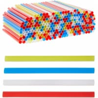 Plastic Drinking Straws, Single Use Extra Wide for Boba (0.47 x 7.87 In, 300 Pack - PACK
