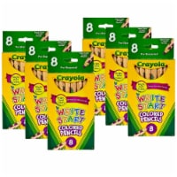 Write Start® Colored Pencils, 8 Per Box, 6 Boxes - 1
