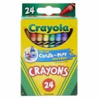 Crayola BIN3024-12 Crayons 24 Color Peggable - Box of 12 - 1