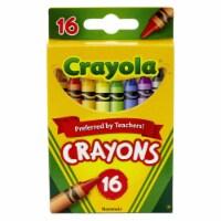 Crayola BIN16-12 Regular Size Crayons - 16 Per Pack - Box of 12