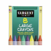 Sargent Art SAR220561-12 Crayons Large Tuck Box - 8 Count - Box of 12 - 1