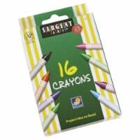Sargent Art SAR550916-36 Crayons Tuck Box - 16 Count - Box of 36 - 1