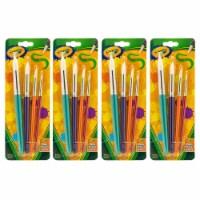 Round Brush Set, 4 Per Pack, 4 Packs - 1