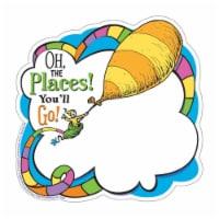 Eureka EU-841541-3 Dr Seuss Oh The Places Paper Cut Outs - Pack of 3