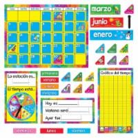 Calendario Anual (Spanish) Bulletin Board Set, 2 Sets - 1